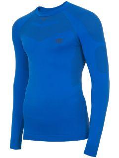 Pánske bezšvové termoprádlo (horná časť) BIMB300G – modrá