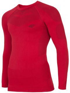 Pánske bezšvové termoprádlo (horná časť) BIMB300G – červená