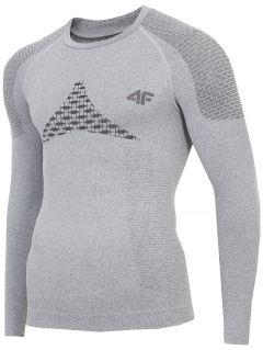 Pánske bezšvové prádlo (horná časť) BIMB301G – šedá