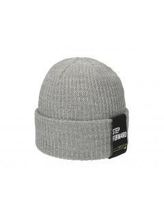 Pánska čiapka CAM251 – šedá melanž