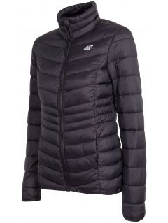 Dámska bunda so syntetickou výplňou KUDP210 - čierna
