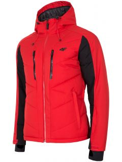 Pánska lyžiarska bunda KUMN256 – červená