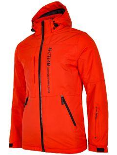 Pánska lyžiarska bunda KUMN552R - oranžová