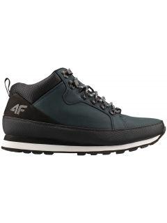 Pánske trekingové topánky OBMH202 – tmavomodrá