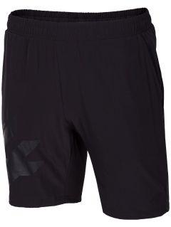 Pánske tréningové šortky SKMF150 - čierna