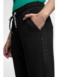 Dámske teplákové nohavice SPDD203 - čierna