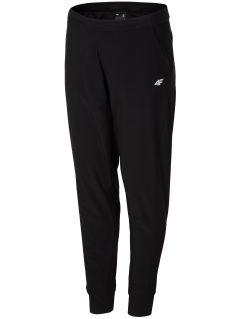 Dámske tréningové nohavice SPDF304 - čierna