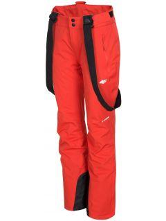 Dámske lyžiarske nohavice SPDN300 - červená