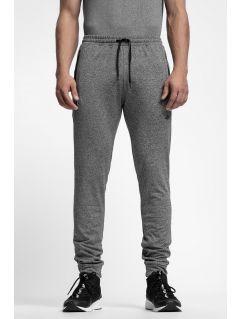 Pánske teplákové nohavice SPMD303 - stredne šedá melanž