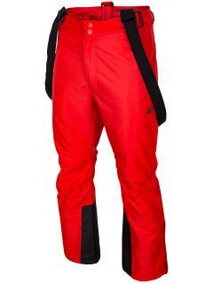 Pánske lyžiarske nohavice SPMN350 – červená