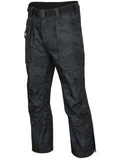 Pánske lyžiarske nohavice SPMN552R - multifarebná allover