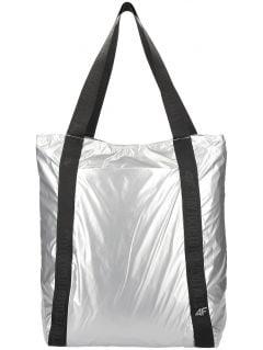 Dámska taška cez rameno TPU202 - strieborná