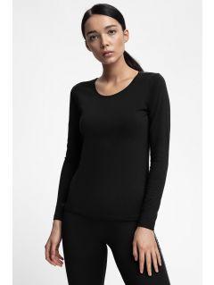 Dámske tričko s dlhým rukávom  TSDL300 - čierna