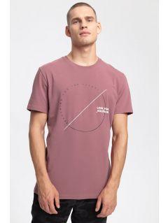 Pánske tričko TSM269 - burgundská červená