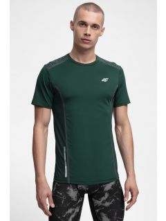 Pánske tréningové tričko TSMF216 - tmavozelená