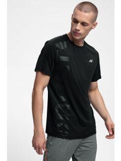 Pánske tréningové tričko TSMF257 - čierna