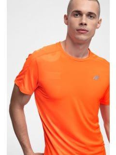 Pánske bežecké tričko TSMF257 - neónová oranžová