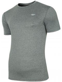Pánske tréningové tričko TSMF301 - stredné šedá melanž