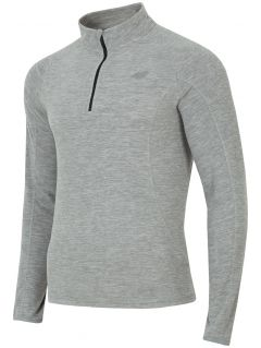 Pánske flísové prádlo BIMP001 – šedá melanž
