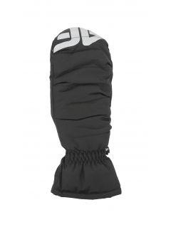 Lyžiarske rukavice pre mladšie deti (dievčatá) JRED401 – čierna