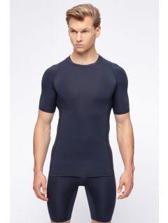 Pánske tričko 4FPro TSMF400 – tmavomodrá