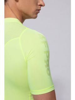 Pánske tričko 4FPro TSMF400 – neónová žltá