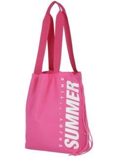 plážová taška  tpl204 - ružový neón