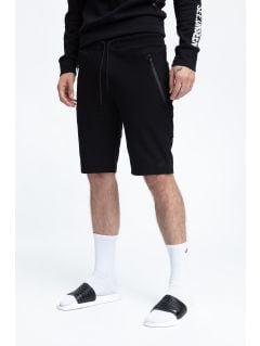 Pánske teplákové šortky SKMD200 - čierna