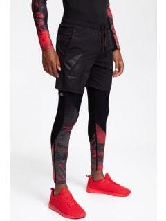 Pánske tréningové šortky SKMF201 - čierna