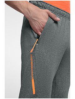 Pánske tréningové nohavice SPMTR201 - stredne šedá melanž