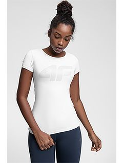 Dámske tréningové tričko TSDF107 – biela