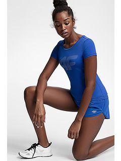 Dámske tréningové tričko TSDF107 – kobaltová modrá