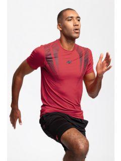 Pánske tréningové tričko TSMF204 – červená