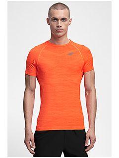 Pánske tréningové tričko TSMF258 - oranžová melanž