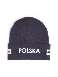 "Čiapka unisex ""Polska PyeongChang 2018"" CAU900R – grafitová šedá"