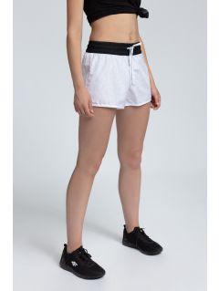Dámske plážové šortky SKDT203 - biela