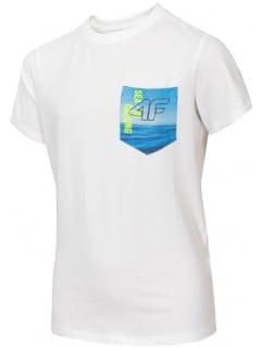 4891e2e52d4a6 Chlapčenské tričko JTSM228 - biela