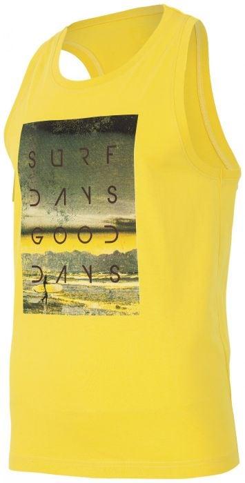a058cb47f873 Pánske tričko bez rukávov TSM003 - žltá