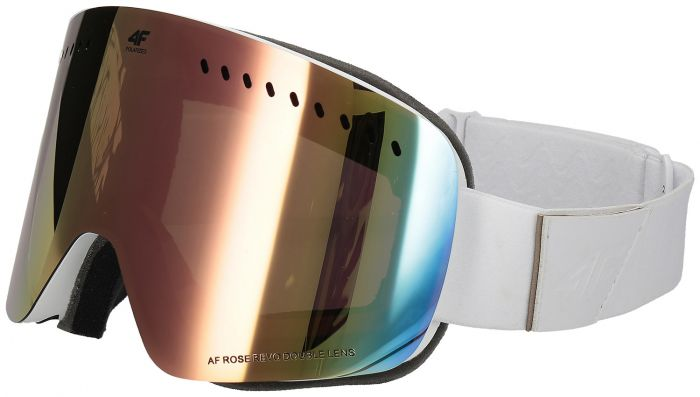 Dámske lyžiarske okuliare GGD150 - biela a77bbd11f8a