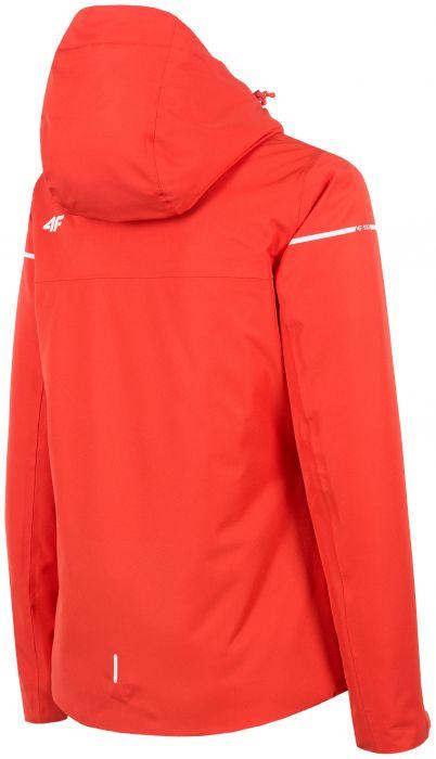 Dámska lyžiarska bunda KUDN300 – červená 9b3da220a96