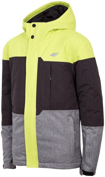 Lyžiarska bunda pre staršie deti (chlapcov) JKUMN408 - zelená bceb58a845d