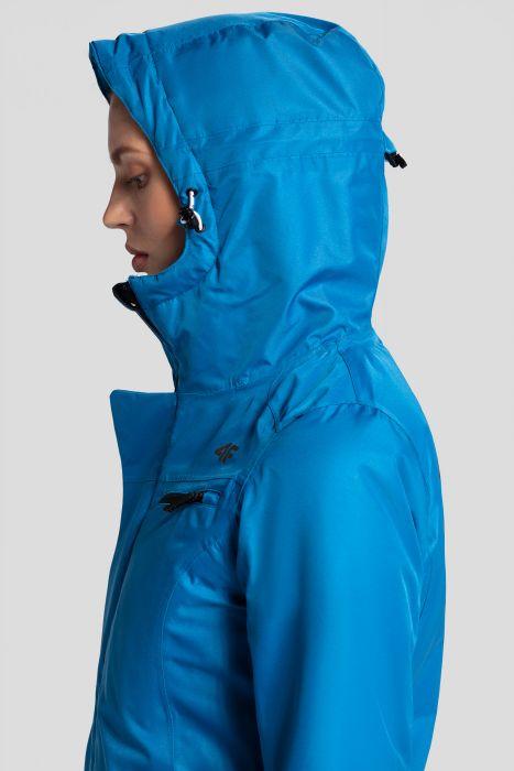 Dámska lyžiarska bunda KUDN253 – modrá c31168da5c5