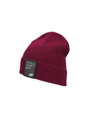 Pánska čiapka CAM250 – burgundská červená
