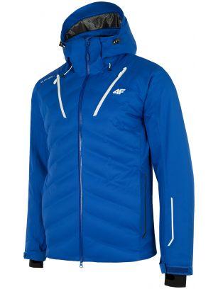 Pánska lyžiarska bunda KUMN150 – kobaltová modrá