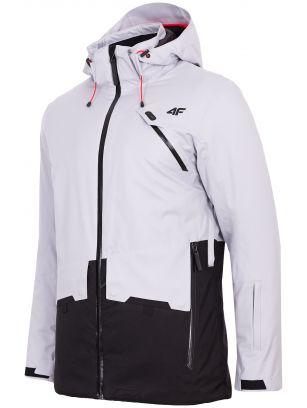 Pánska lyžiarska bunda KUMN255 – šedá