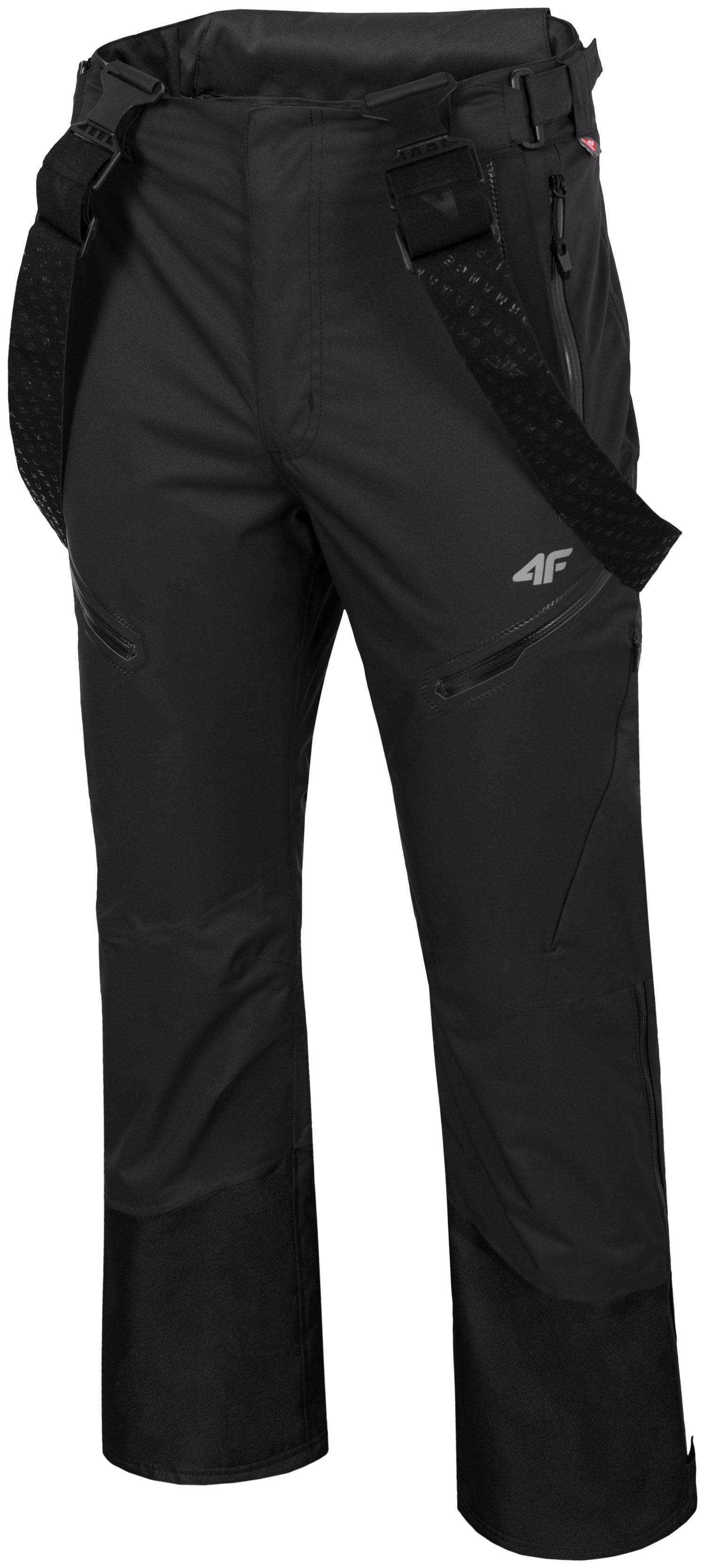 fa4ea524f Pánske lyžiarske nohavice SPMN151 - čierna