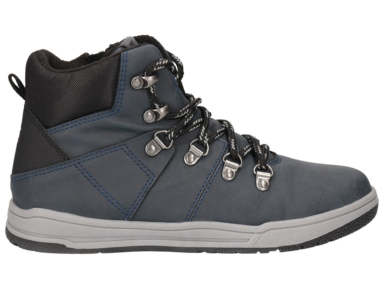 cc4ea268d Jesenné topánky pre staršie deti (chlapcov) JOBMA203 - tmavomodrá